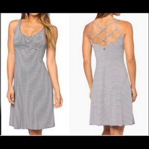 Prana Gray Summer Dress